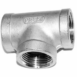 Stainless Steel Unequal Tee Socket Weld