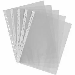 100 Micron 11 Hole Punched Sheet Protector