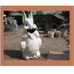 Rabbit Dustbin For Garden