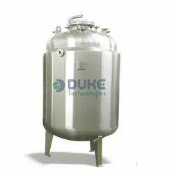 SS DM Water Storage Tank for Pharma