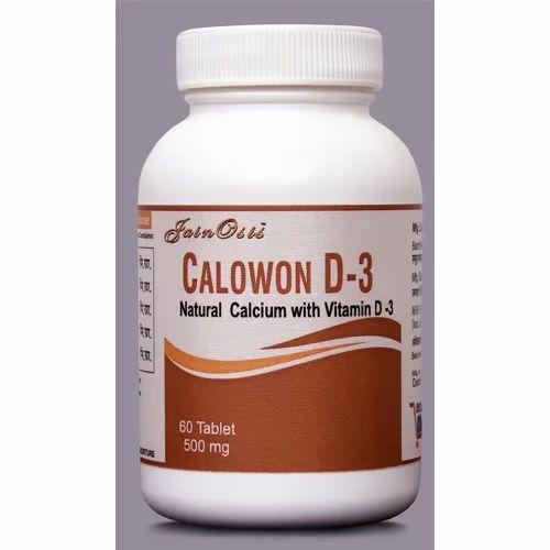 Ayurvedic Calcium Tablet, 500 Mg