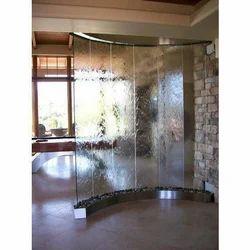 Glass Wall Water Fountain