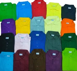 Cotton Half Sleeves Polo T-Shirts