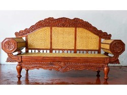 Wood Chettinad Designer Sofa