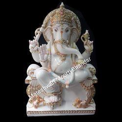 Marble Ganesh Statue In Pune Maharashtra Get Latest