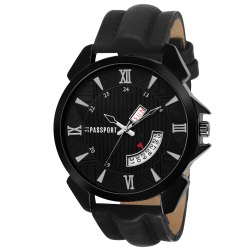 Modern Black Wrist Watch