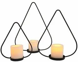 Handsome Floor Candle Stands for Weddings
