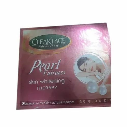 Clear Face Pearl Fairness Skin Whitening Therapy, Cream ...