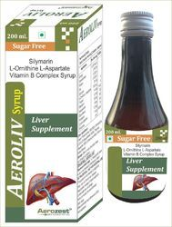 Silymarin L-Ornithine L-Aspartate Vitamin B Complex Syrup