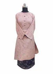 Cotton Rayon Palazzo Suit