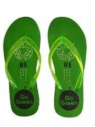 Ladies Green EVA Slipper
