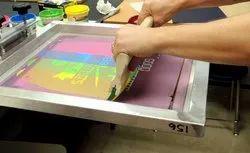 Black Cardboard Screen Printing Services, in Betul