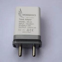 2 Pin Mobibasics Double USB Adaptor