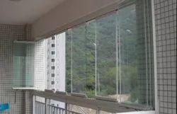 Frameless Balcony Window