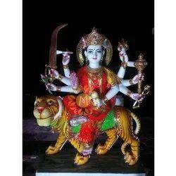 Lord Marble Maa Durga Statue