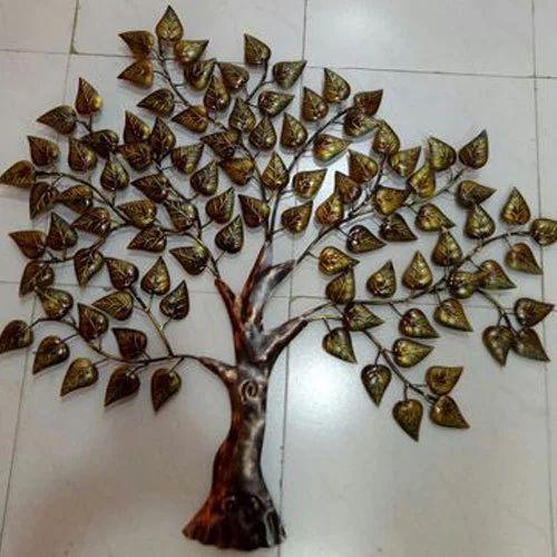 Iron Decorative Tree Wall Decor Rs