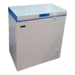 Stainless Steel Electric Blue Star Chest Freezer, 100 L