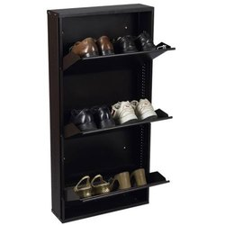 MS steel Shoe Rack, For Home, Size: 60 Inch X 30 Inch