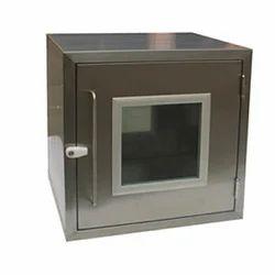 Matt/mirror TGPE Stainless Steel Pass Box, Size/dimension: Standard