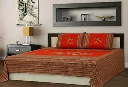 Designer Patchwork Double Bedsheet