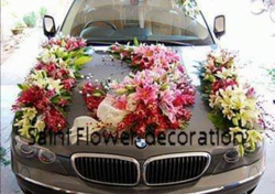 Flower Car Decor