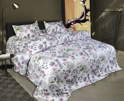 Floral Print Double Bedsheet Premium Quality