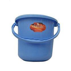 Blue Plastic Water Bucket