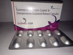 Esomeprazole Enteric Coated & Dompridone Sustaind Release capsules