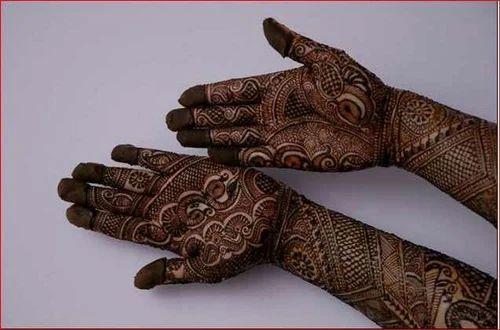 Female And Male Indian Mehendi Design, Mehendi Design Center