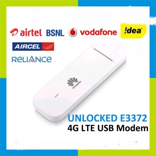 Airtel Huawei 3372 4g Dongle All Sim Open