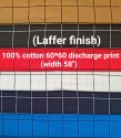 Cotton Discharge Print Shirting Fabrics (Laffer Finish)