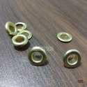 No. 21 (9mm) Brass Eyelets & Washers Golden