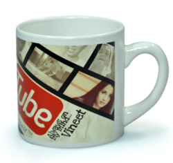 Deeher Gifts Ceramic Tea Mug, Capacity: 300 Ml, For Gift
