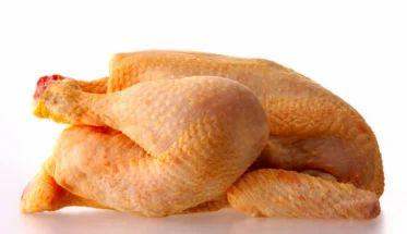 Pollos enteros y medios
