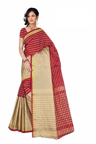 1173487341 Cotton Silk Printed Ladies Saree -oh, With Blouse Piece, Rs 350 ...