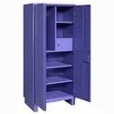 Purple Steel Wardrobe Almirah