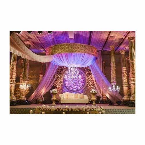 Wedding fiber decoration indian stage at rs 21000 set mughal wedding fiber decoration indian stage junglespirit Images