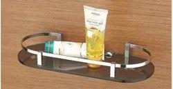 K-301 Acrylic Ovel Shelf