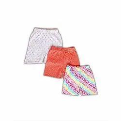 Baby Cotton Shorts, 0-1yr