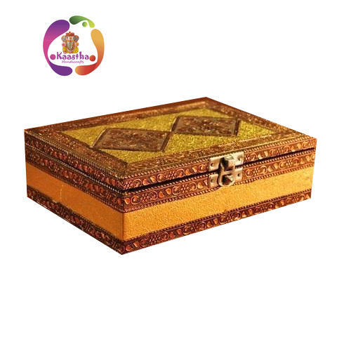 Kaastha Multicolor Handmade Jewelry Box Rs 99 piece Kaastha