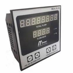 Microset Flow Rate Indicating Totaliser Cum Controller, Model Name/Number: Ms Fl 18