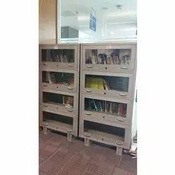 Steel Library Book Shelf
