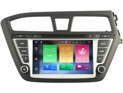 Hyundai I20 Dvd 8 Inch Android 9.0 2gb Ram Quad Core 16gb Ips Display Multimedia Autoradio Gps