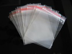 Zip Seal Polythene Bag