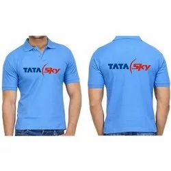 Corporate Sky Blue T-Shirts