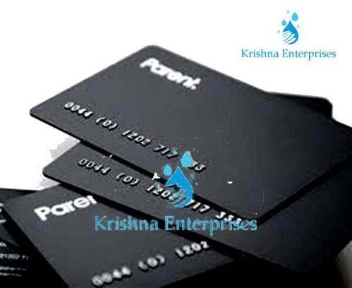 Plastic paper business card krishna plastic paper business card reheart Choice Image