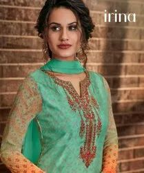 Georgette partywear suits