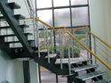 Wooden & Stainless Steel Combination Handrail