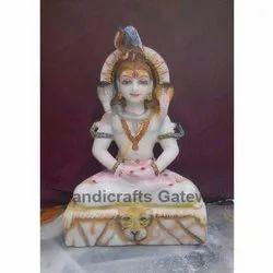 Marble Shankar God Statue