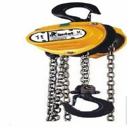 Triple Spur Gear Chain Pulley Block, Capacity: 2 ton